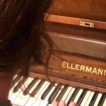 Klavier im Soli-Café
